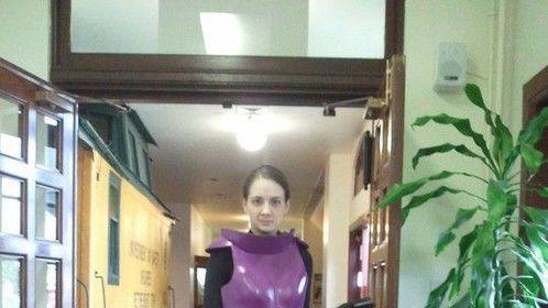 Femine Space Suit