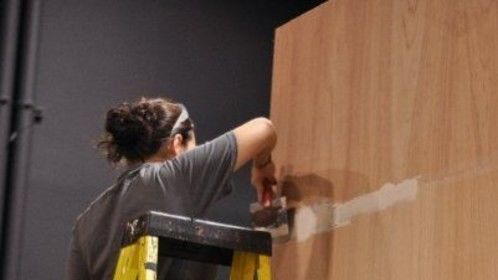 "Building the set of ""The Descendant"""