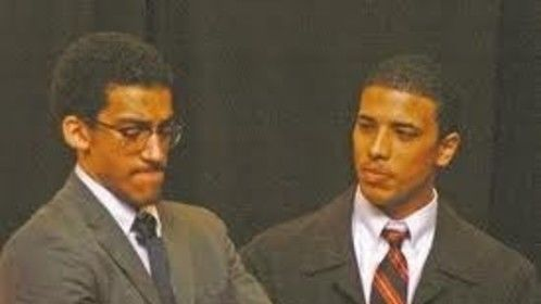 Me on the right as Martin Luther King Jr. at the University of New Hampshire 2008-2009