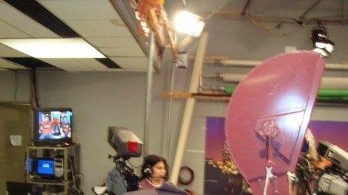 Floor Managing at KVR-TV Austin.