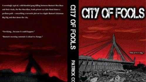 CITY OF FOOLS - front/back covers