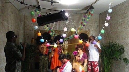 """""""Afro"""" TIkki party"""