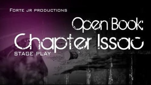 "Participating as actress in Open Book: Chapter Isaac. Playing character ""Tisha"""
