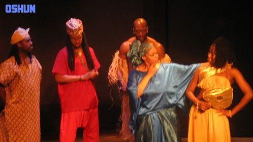 """Yemaya from """"Ochun- A Yoruba Dance Drama"""", Theatre, Director, Roderick Giles"""