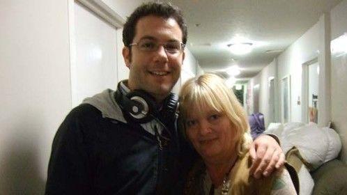 Director Andres Moret Urdampilleta and me
