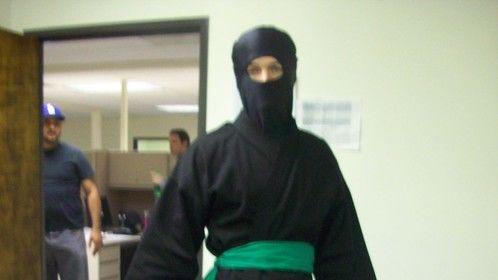 "Wardrobe from feature film ""Office Ninja"""