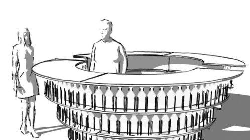 Water Bar Sketch