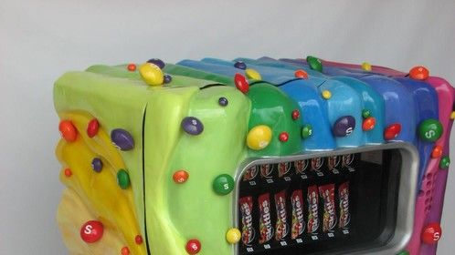Vending Art Giveaway for Skittles