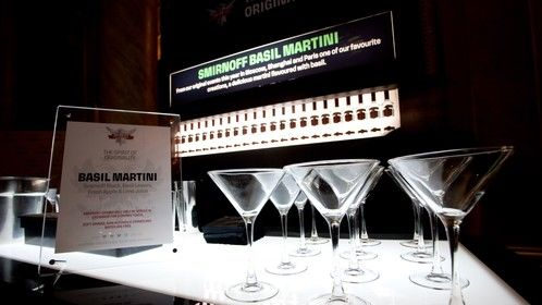 Smirnoff Party at Capitale in NYC