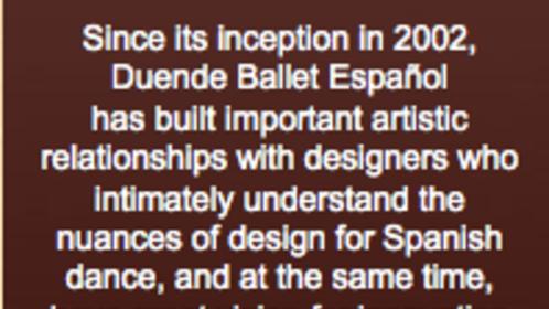 Rosa Mercedes: Artistic Director of Duende
