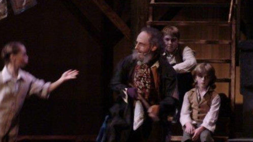 'You've Got To Pick A Pocket Or Two'_Fagin - 'Oliver! The Musical', Greene Room Productions (Monson, MA), at The Academy of Music Theatre, North Hampton, MA, 2010 My first dramatic role!