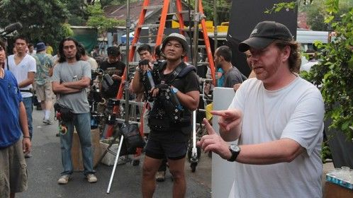 on location in Bangkok Thailand, shooting TRADE OF INNOCENTS