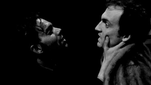 "Mike Archer and Tom Blyth in ""The Duchess of Malfi""."
