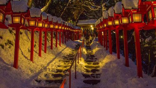 Kibune jinja in Kyoto
