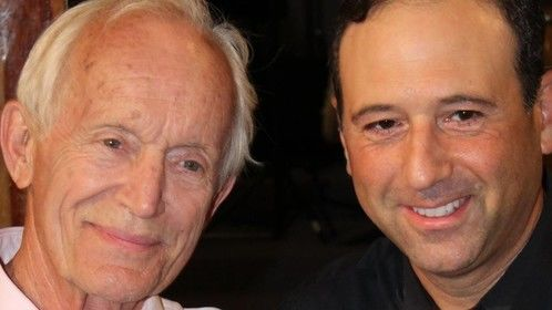 Lance Henriksen and Rob Sciglimpaglia from the set of new motion picture ONE