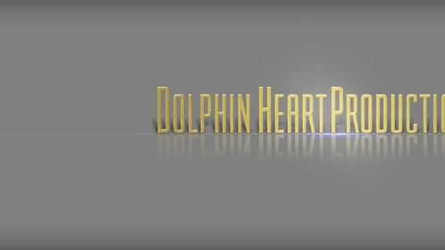 The official Dolphin Heart Productions logotype formatted for Stage 32's cover specifications.