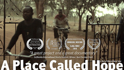 Most of the poster for the award-winning short I made in Mozambique with my son, Daniel.