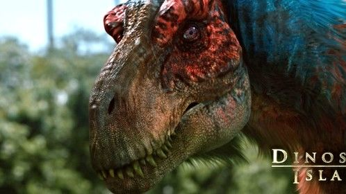 Dinosaur Island - Tyrannosaur