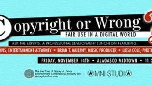 Upcoming Copyright Panel in Birmingham, Alabama