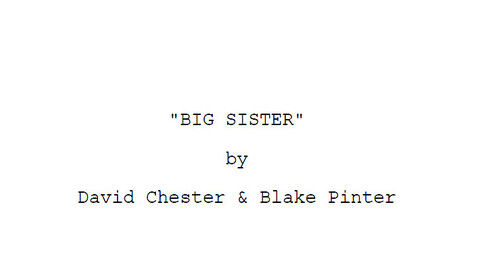 Title page for the screenplay I'm most proud of, three-time finalist. The hardest hurdle remains connecting with the right person. We ARE going to sell this script. :)