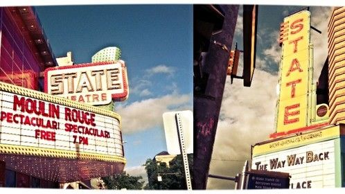 Two State Theaters. Two great places to see movies.