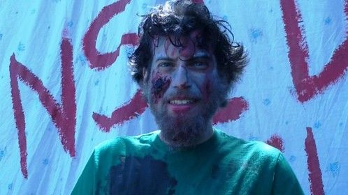 As a zombie in Trailer Park of the Living Dead.