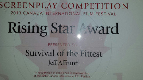 Canada International Film Festival Award