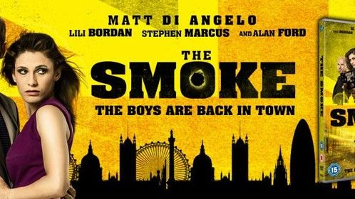 Cover art for UK release of Two Days in the Smoke (as The Smoke)