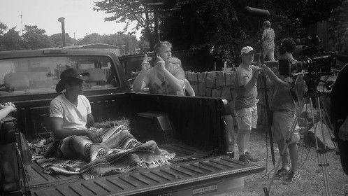 Directing award winning short Juicy Peaches: Last Stop - on location in Atlanta, June 2014