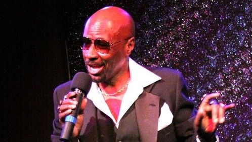 "Performing as Sammy Davis, Jr. in the musical tribute ""Unforgettable"""