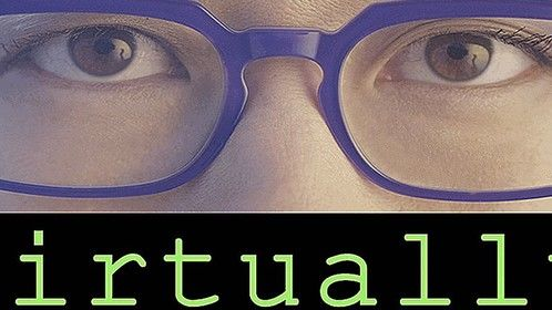 """Logo for the independent feature film, """"Virtually"""""""