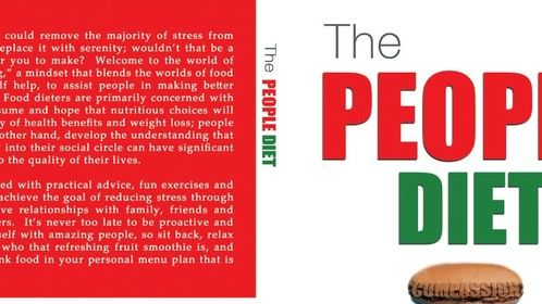 In addition to playwrighting and screenwriting, I'm also an author.  This is the cover of my latest book (published by Motivational Press and available on Barnes & Noble and Amazon.com) The People Diet, a book about improving relationships.