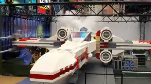 I had the privledge of writing and directing a Cartoon Network/ LEGO spot for the first unveiling of this life sized  X-wing fighter made entirely out of LEGO bricks, shipped in 3 separate containers from Denmark and reassembled in the US.  We had 8 cameras and a techno crane in the middle of NewYork City's Times Square for the reveal!
