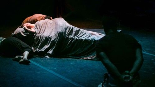 From The Tragedy of Othello, the Moor of Venice, directed by Keith Michael Pinault. Photo by Amy Sims.