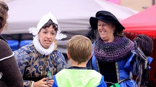 "I played Anne the local  seamstress in King Henry the 8th "" An emperor and his Clothes "" at The Connecticut Renaissance Festival this fall."