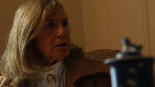 Screenshot from the film Muted, playing Lavinia Bariswold