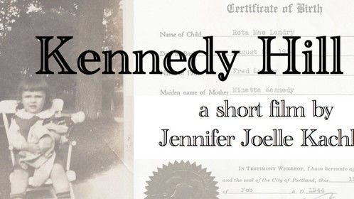 Kennedy Hill is a short film set in the 1930s of America. Grace, a 13 year-old girl, is being courted for marriage by her life-long, next door neighbor. Suddenly, he breaks it off because he finds out a concealed truth - Grace is adopted. This tightly kept secret reveals more than that her adoptive parents are sterile but that she is a product of an unacceptable, unwed French-Canadian and Irish couple. Heartbroken and deceived, Grace journeys away from home to find her birth parents. During this excursion Grace discovers who her true family is.   A David Lynch MA in Film Master Thesis Film currently in development for the 2014-2015 Program.