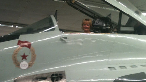 Fun in a Russian MIG at Nellis AFB - My Super Hero Ability Goal? Flight or Invisibility!  What's yours?