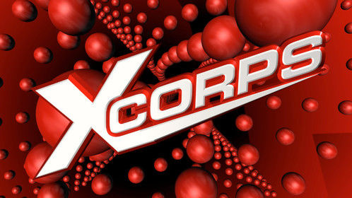 Xcorps Action Sports and Music TV still frame from HD VIDEO GFX.