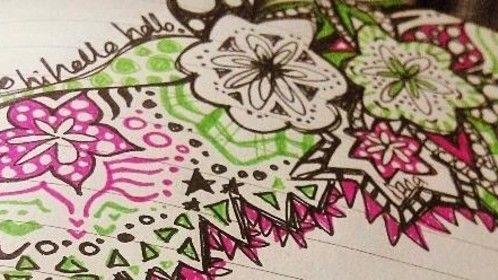 I do doodle.