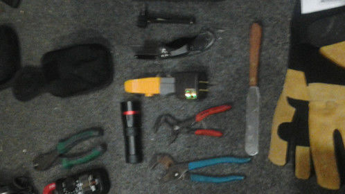 A sampling of tools of the trade.