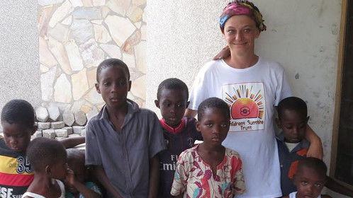 Dawn Waddington @ Save Widows and Orphans Development Centre, Volta Region, Ghana, West Africa (NOV 2014)