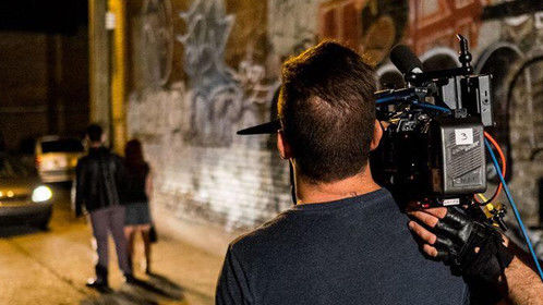 """Nice picture from the set of short film """"Le Spasme"""""""