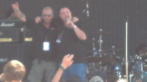 On Stage at the National Cherry Festival in Traverse City, Mi.
