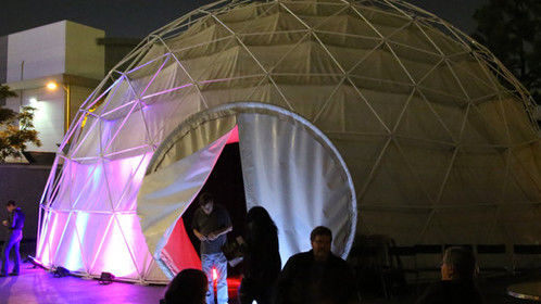 The Vortex Dome at Los Angeles Center Studios www.thevortexdome.com