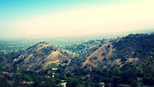 A view from Beverly Crest.