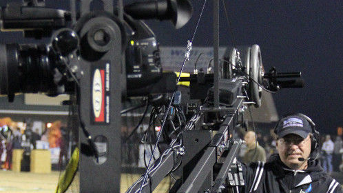 IHP Jib-cam Operator, Russell Adams