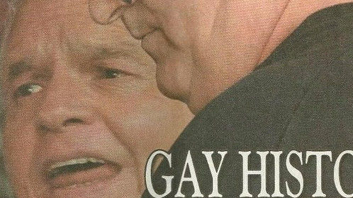 Partner and I were the first Florida couple to sue Governor Jeb Bush and the state of Florida for the right to have same sex marriage (2004).