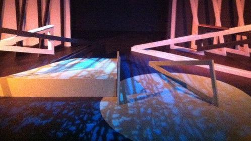Lighting Designer for Mary's Wedding at Theatre Artists Studio, 2014. Director: Carol Macleod