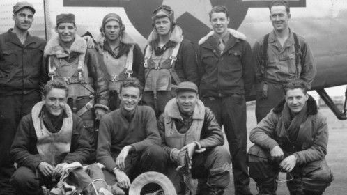 The O'Sullivan Crew #713. Photo taken on July 31, 1944. 30 missions completed. I'm producing a film about this crew, called CREW 713.